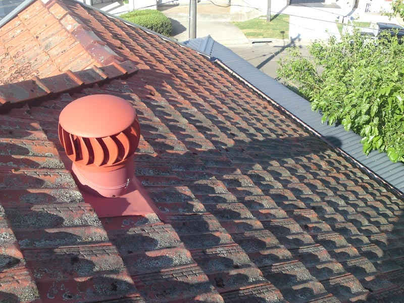 Tiles Off Metal Roofing On Roofing Project