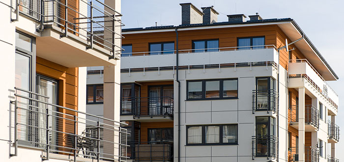 Apartment Building Roof Types