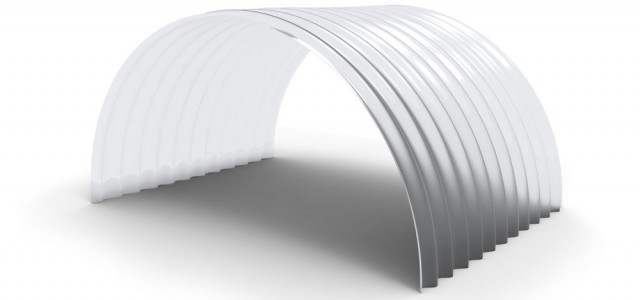 Corrugated Pre-curved Roofing