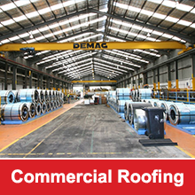 RO Steel are able to solve all of your Commercial Roofing needs